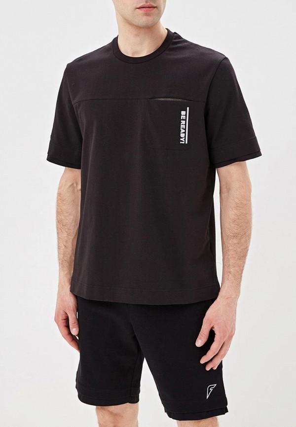 мужская спортивные футболка forward, черная