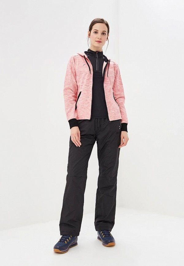 Фото 2 - женскую толстовку или олимпийку Forward розового цвета
