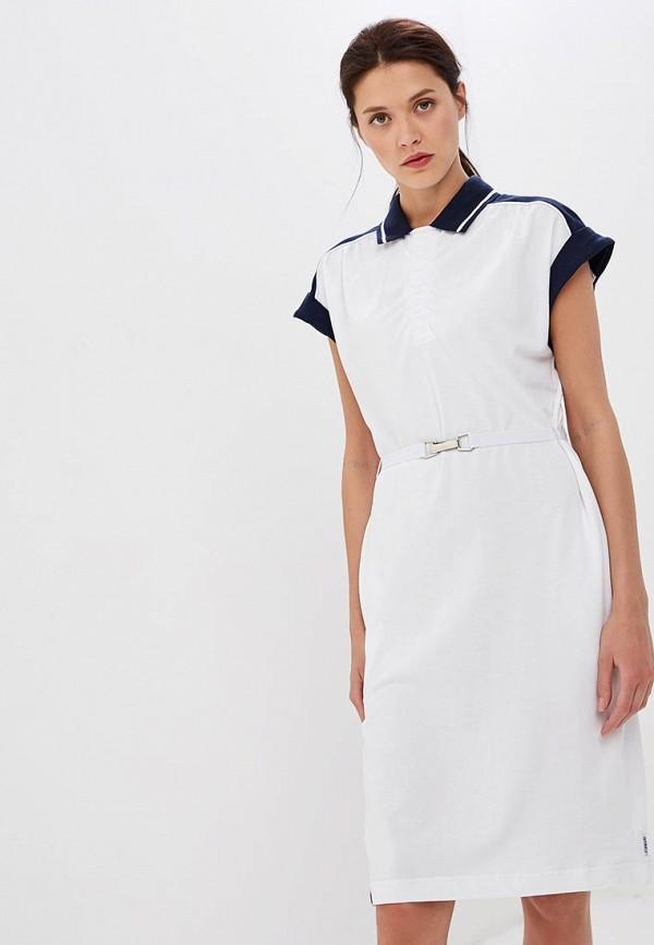 женское спортивные платье forward, белое