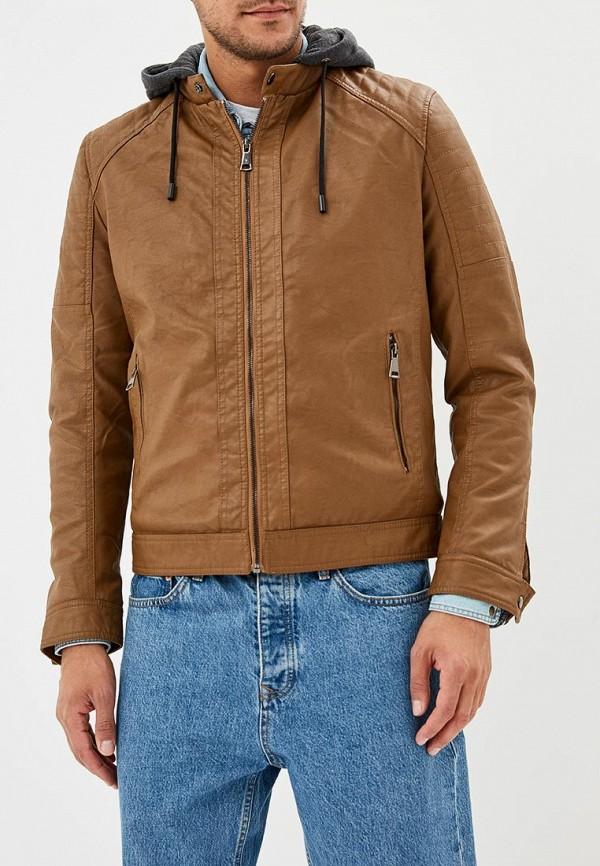 Купить Куртка кожаная Forex, FO011EMCNGK3, коричневый, Осень-зима 2018/2019