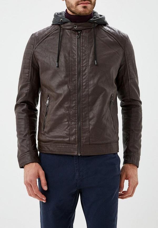 Купить Куртка кожаная Forex, FO011EMCNGK4, коричневый, Осень-зима 2018/2019