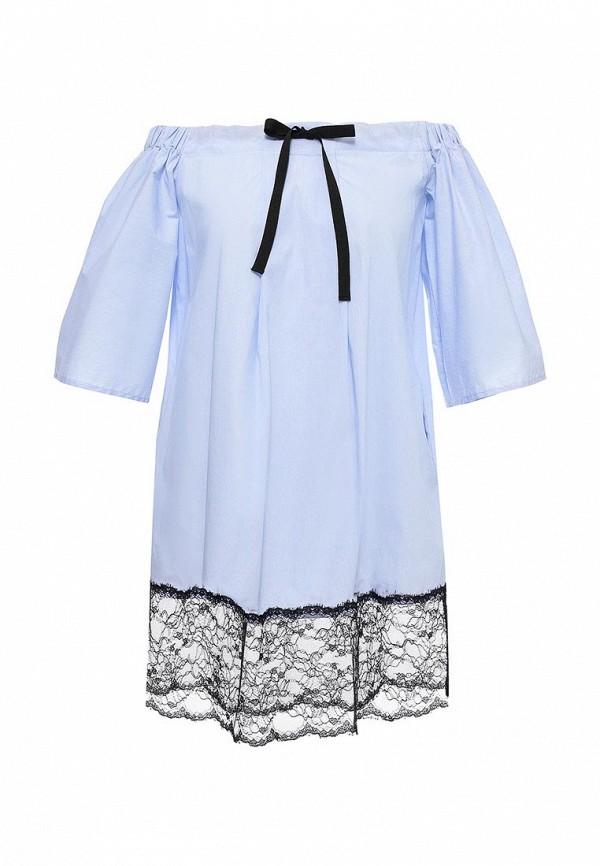 Платье Fornarina Fornarina FO019EWRSO61 худи fornarina fornarina fo019ewrso65