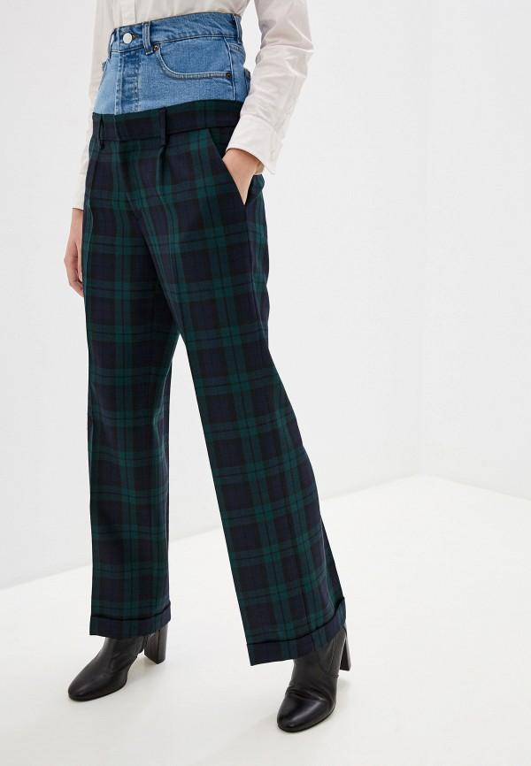 женские повседневные брюки forte dei marmi couture, синие