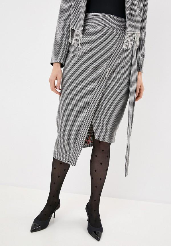 женская юбка forte dei marmi couture, черная