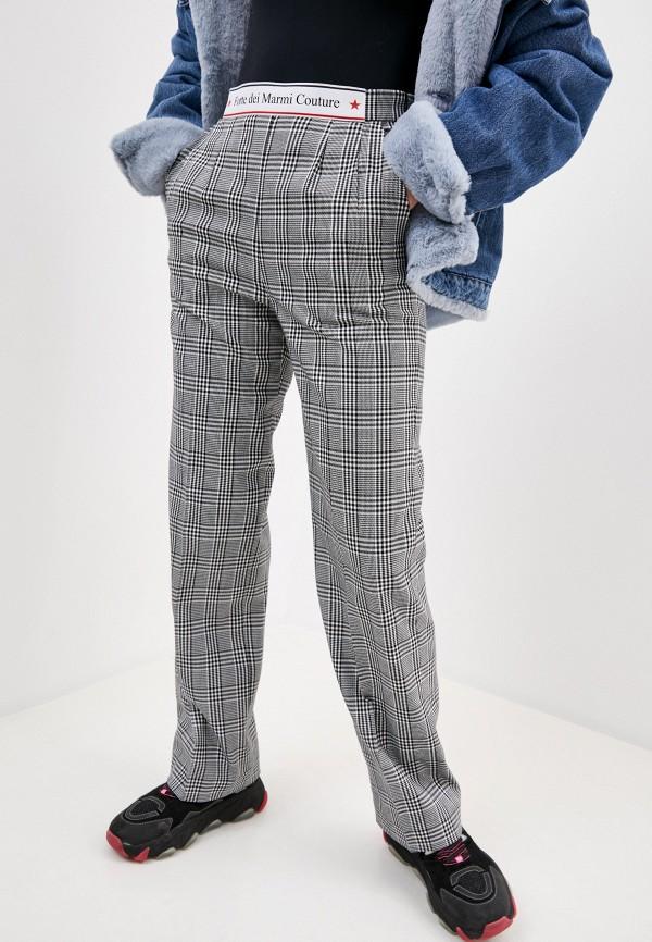 женские повседневные брюки forte dei marmi couture, серые
