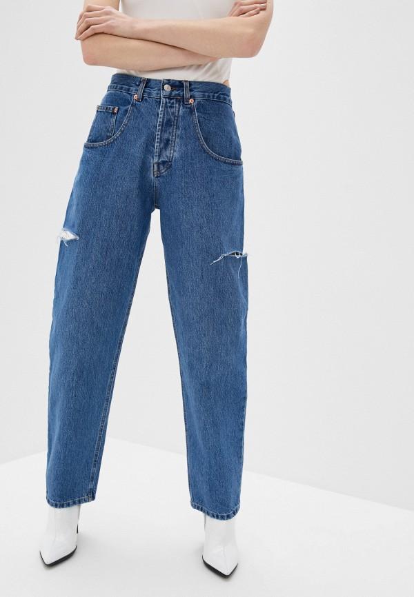 женские джинсы-мом forte dei marmi couture, голубые