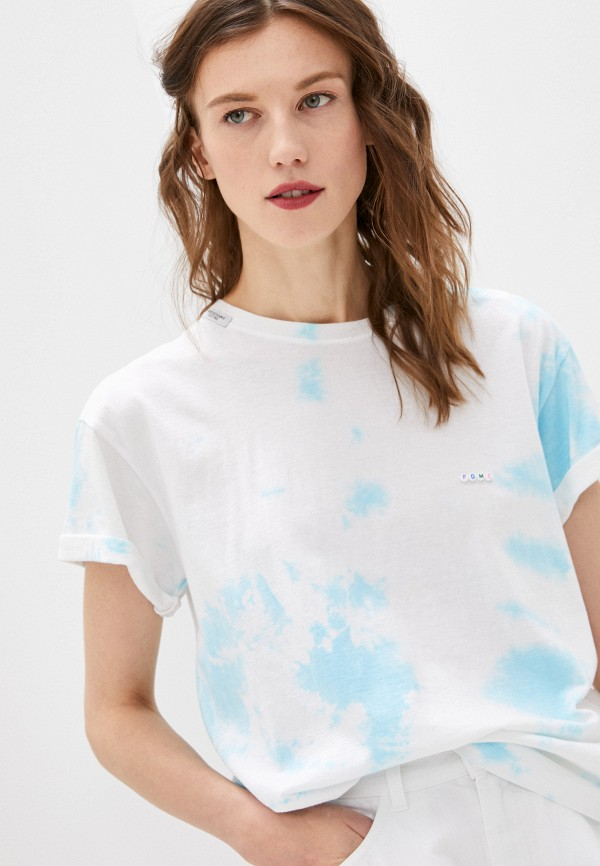 женская футболка forte dei marmi couture, белая