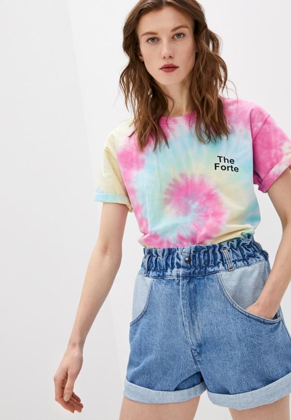 женская футболка forte dei marmi couture, разноцветная
