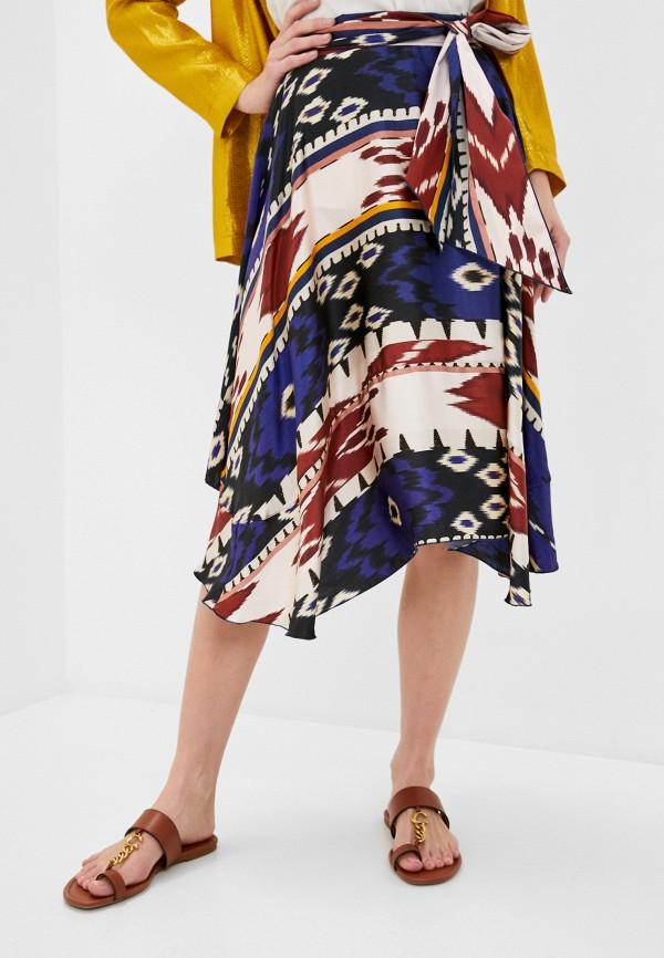 женская юбка forte forte, разноцветная