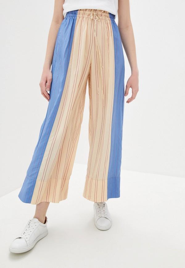 женские повседневные брюки forte forte, разноцветные