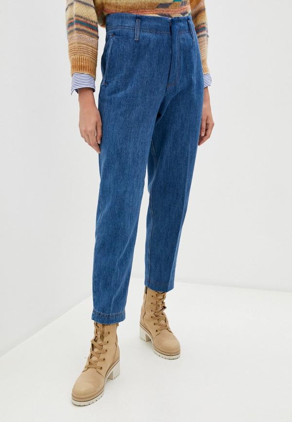 женские джинсы forte forte, синие