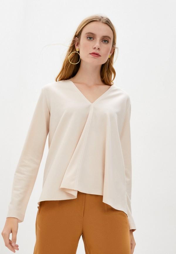 женская блузка forte forte, бежевая