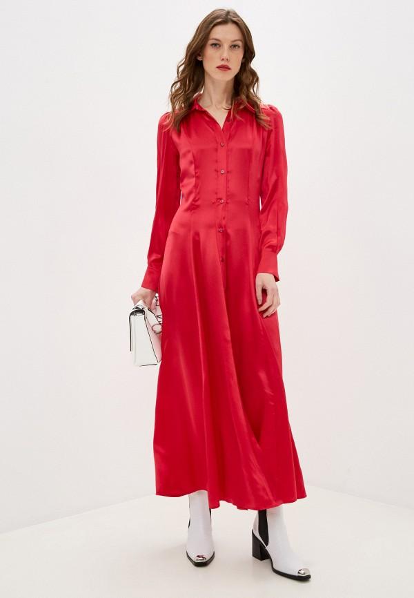 женское платье forte forte, красное