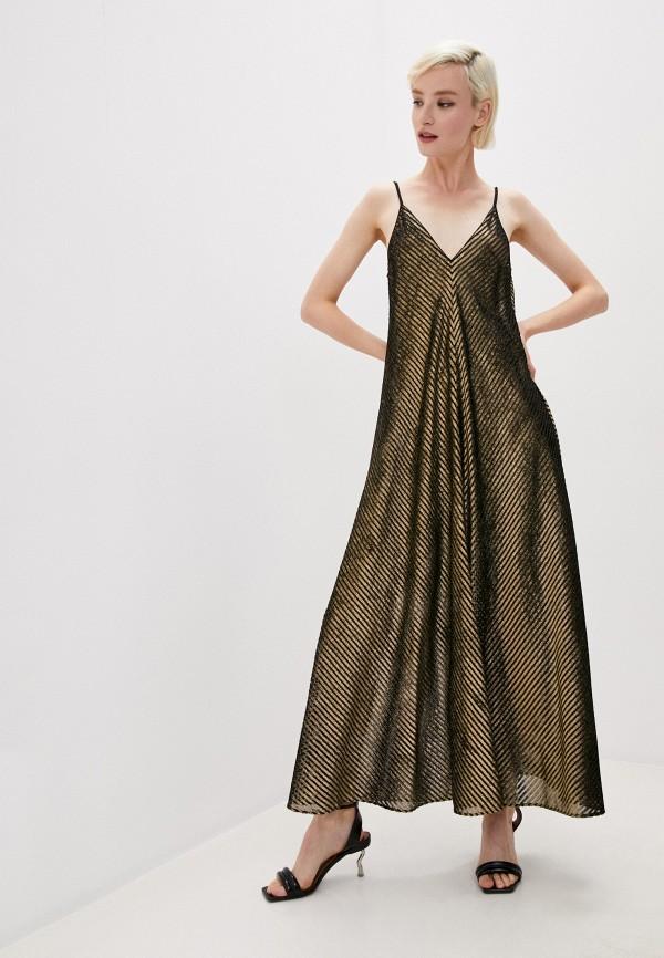 Платье Forte Forte золотого цвета