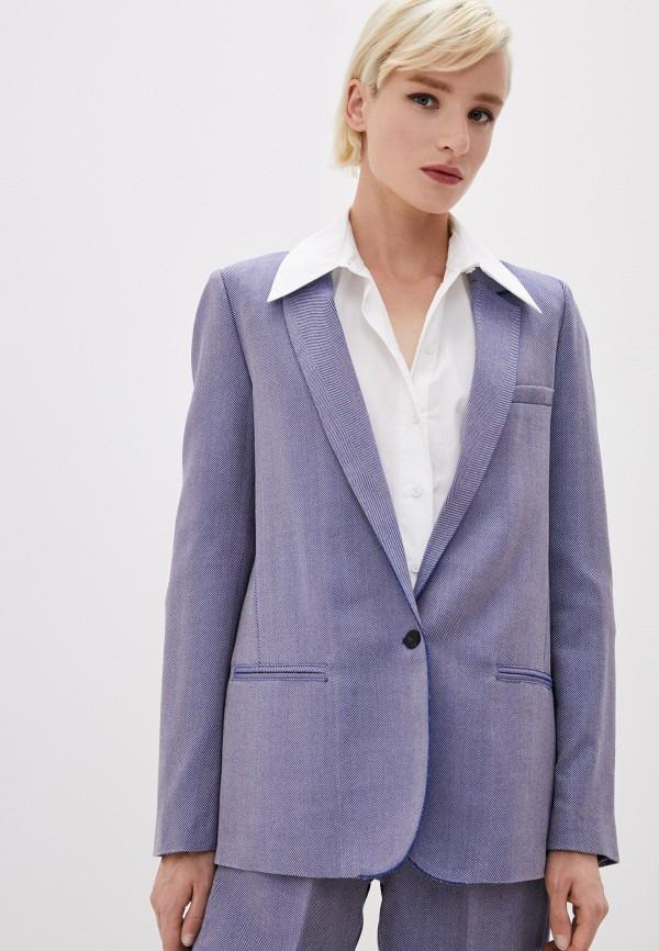 женский пиджак forte forte, синий