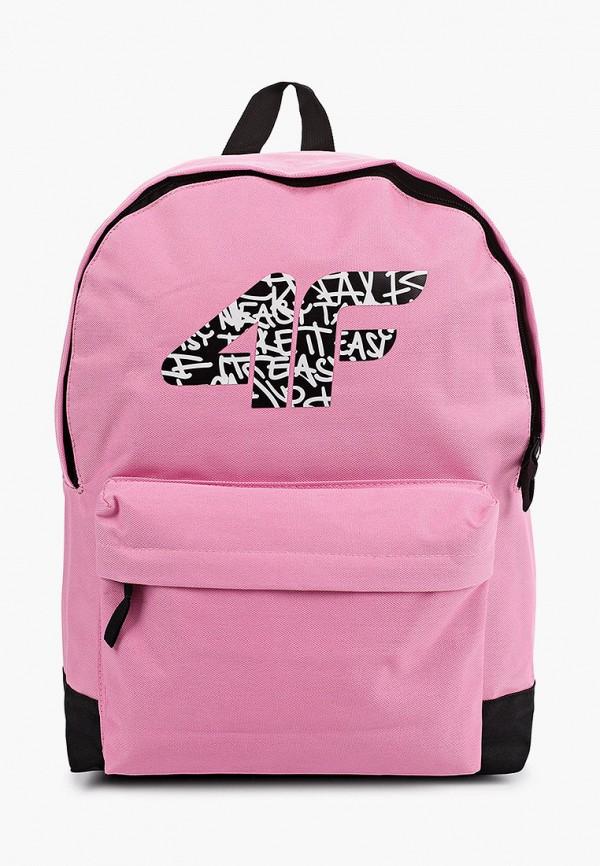 рюкзак 4f для девочки, розовый
