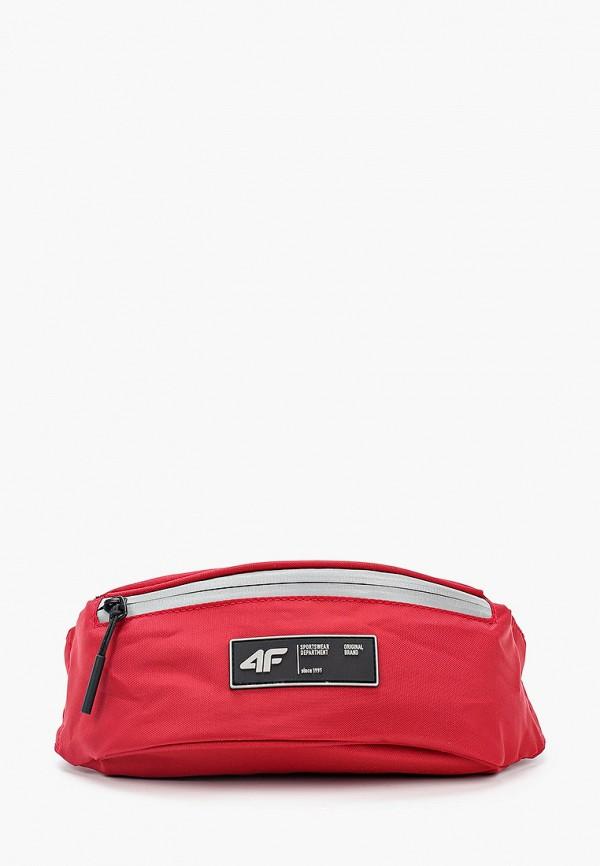 женская сумка 4f, красная