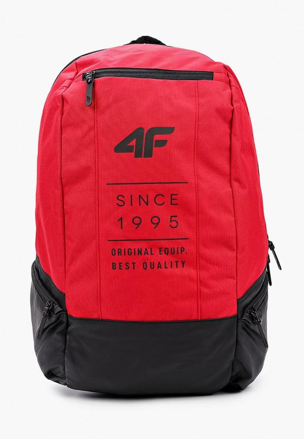 женский рюкзак 4f, красный