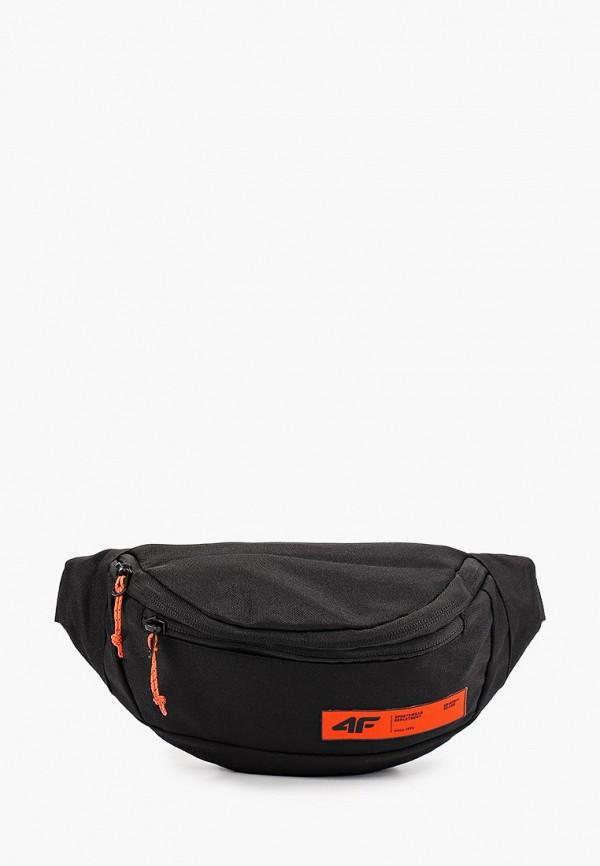 женская поясные сумка 4f, черная