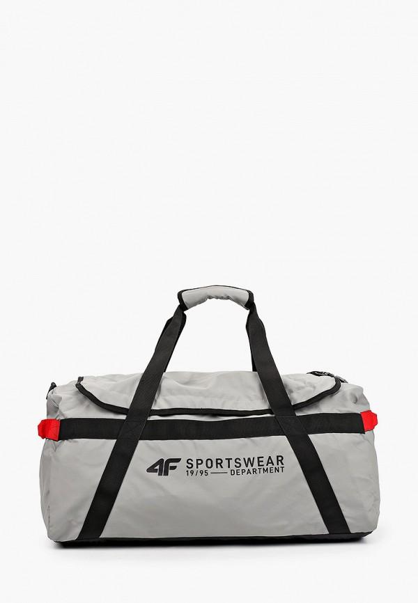 женская спортивные сумка 4f, серая