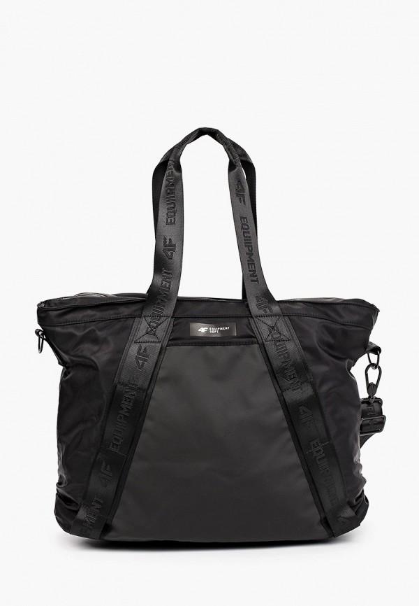 женская спортивные сумка 4f, черная
