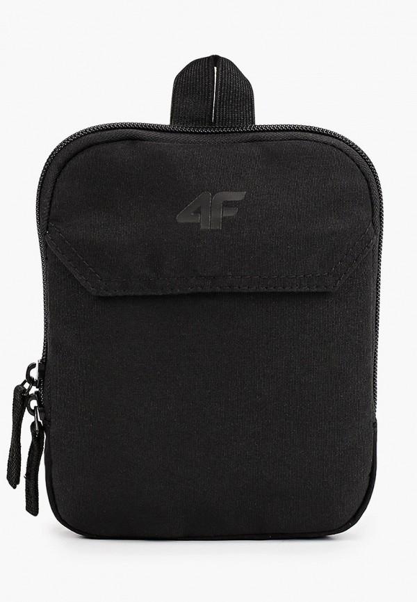 женская сумка через плечо 4f, черная