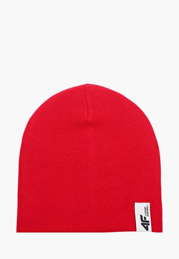 шапка 4f для мальчика, красная