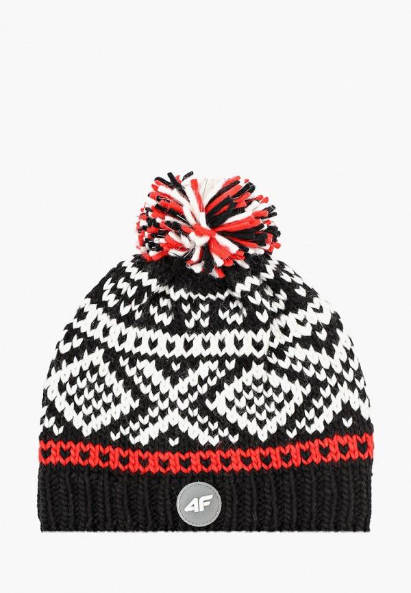 шапка 4f для мальчика, черная