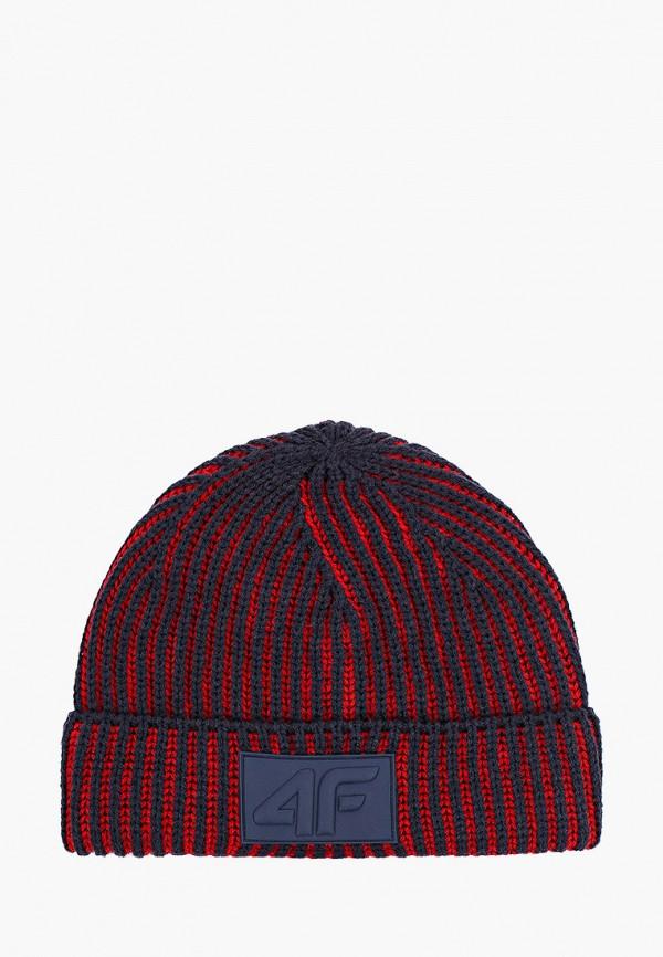 шапка 4f для мальчика, синяя
