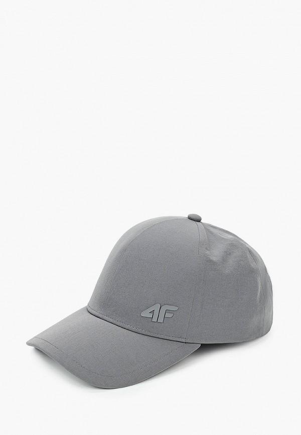 мужская бейсболка 4f, серебряная