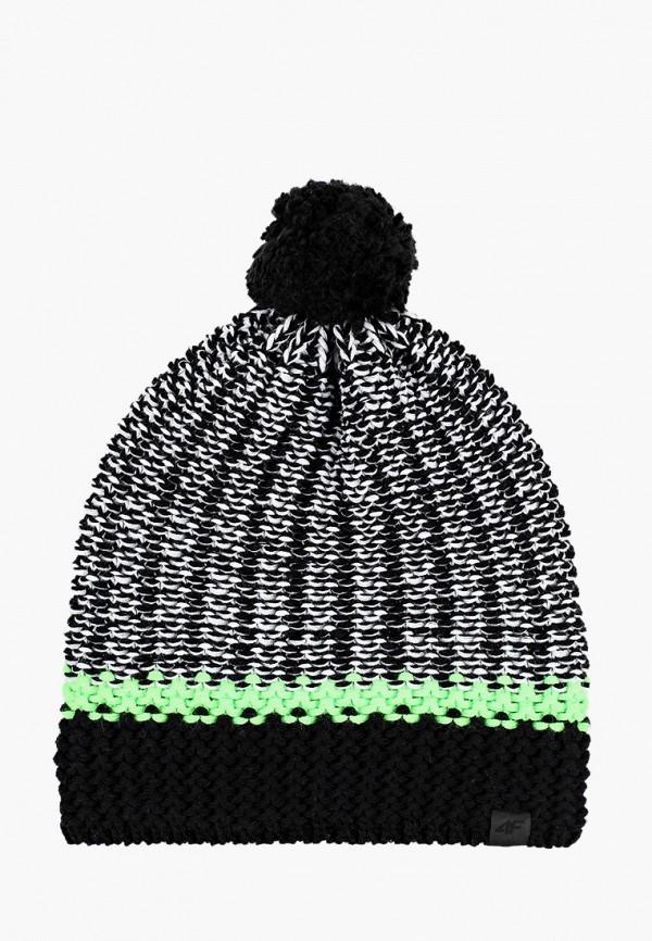 мужская шапка 4f, серая