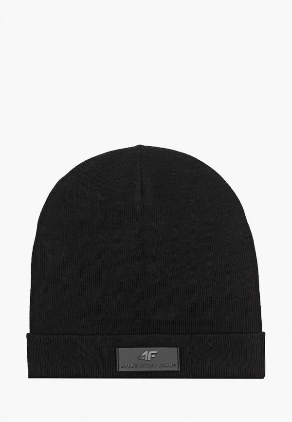 мужская шапка 4f, черная