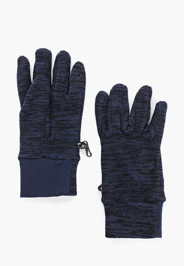 женские перчатки 4f, синие