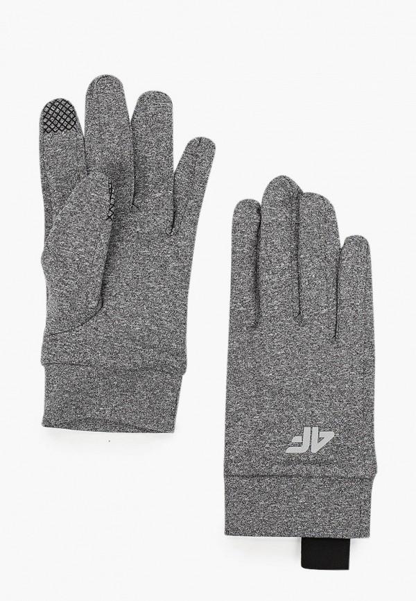 женские перчатки 4f, серые