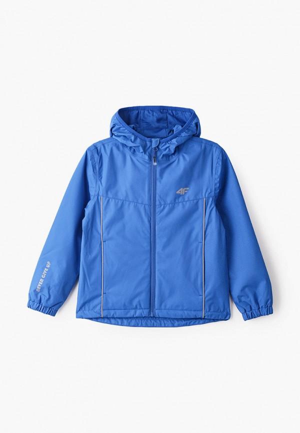 куртка 4f для мальчика, синяя