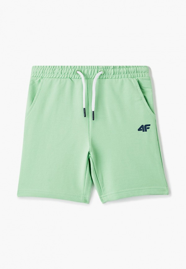 спортивные шорты 4f для мальчика, зеленые