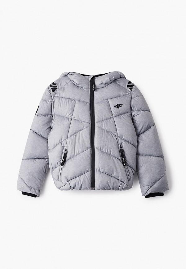 куртка 4f для мальчика, серая