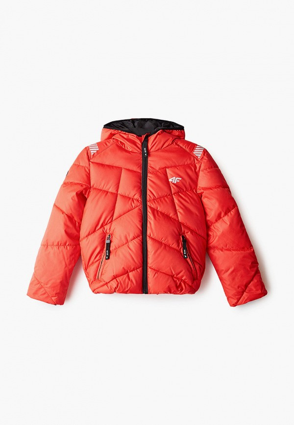 куртка 4f для мальчика, красная