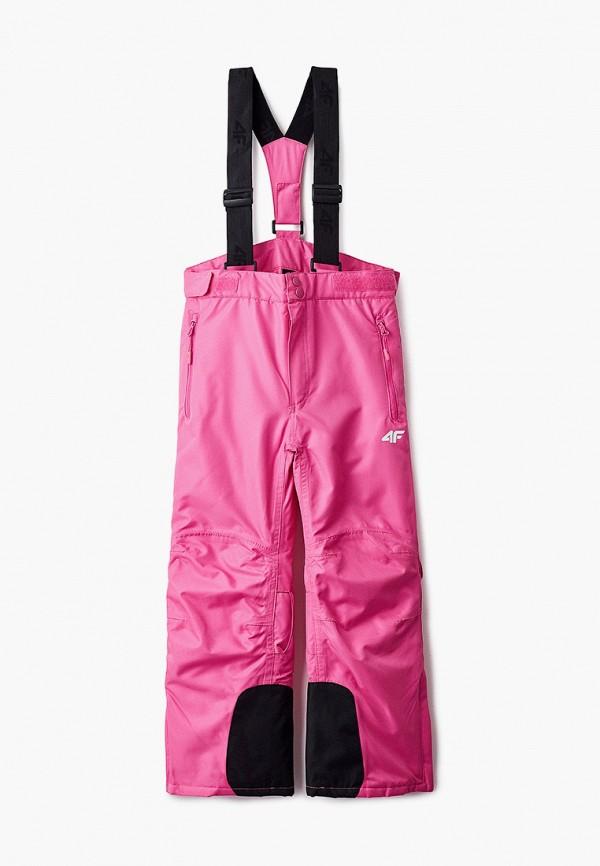 брюки 4f для девочки, розовые