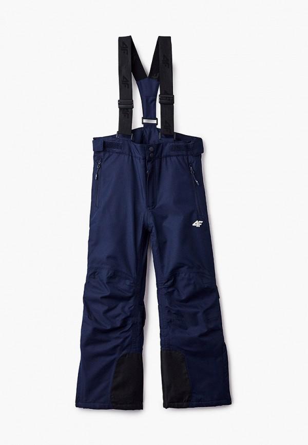 брюки 4f для девочки, синие