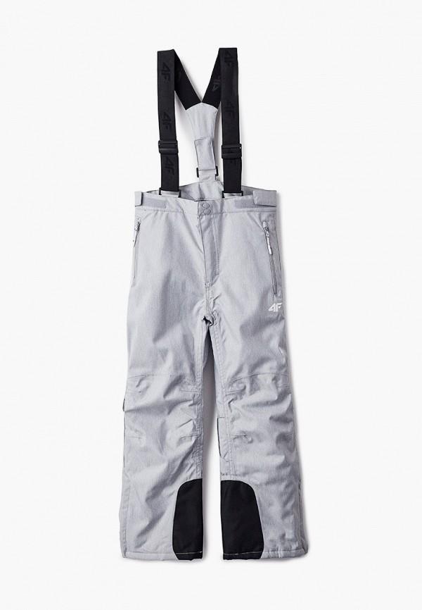 брюки 4f для девочки, серые