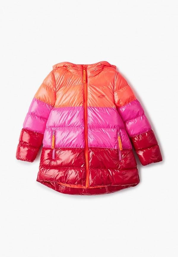 куртка 4f для девочки, разноцветная