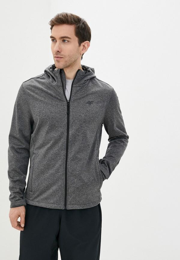 мужская куртка 4f, серая