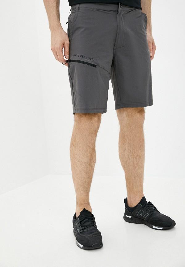 мужские шорты 4f, серые