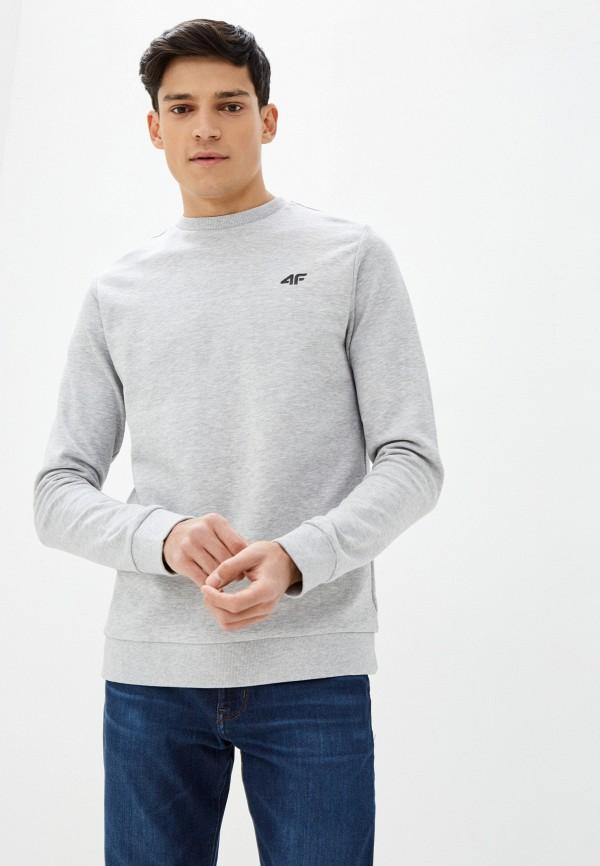 мужской свитшот 4f, серый