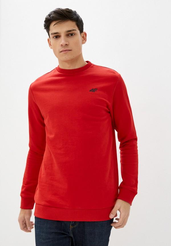 мужской свитшот 4f, красный