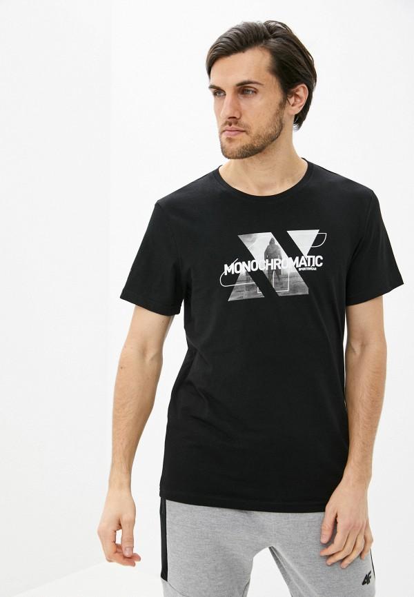 мужская спортивные футболка 4f, черная