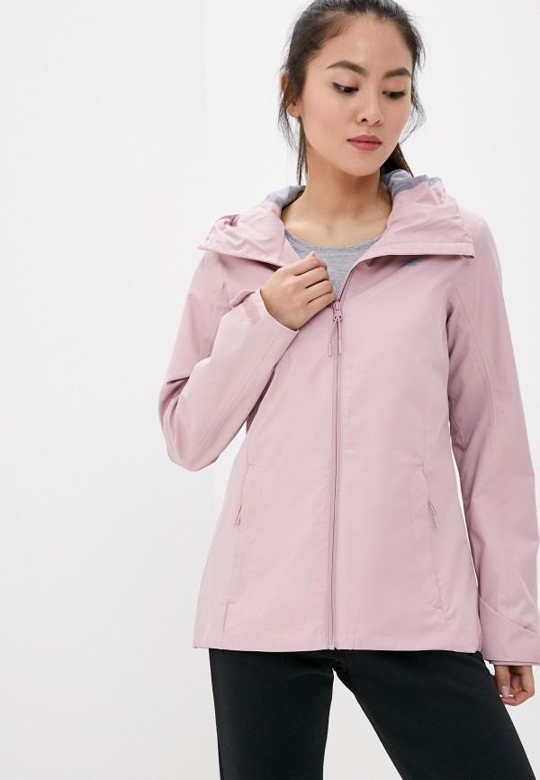 женская куртка 4f, розовая