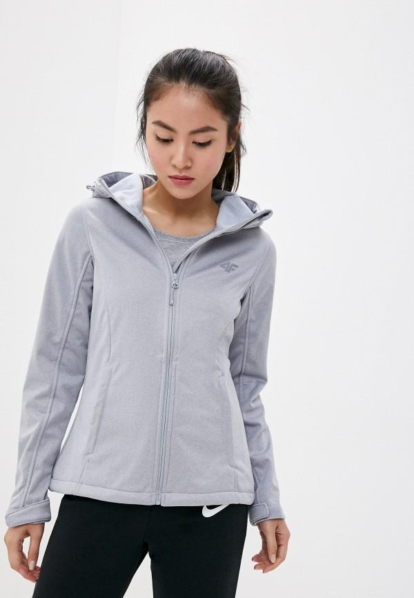 женская куртка 4f, серая