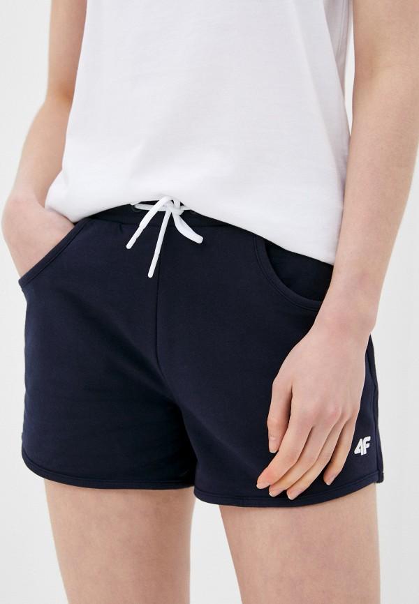 женские шорты 4f, синие